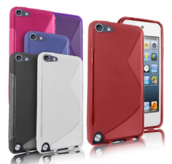 iPod Touch 5 S Line TPU Gel Case Cover