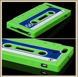 iPhone 5 Cassette Silicone Case