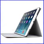 iPad Air Silk Pattern Stand Fully Covered PU Case