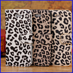 iphone5C Leopard Pattern Leather Case