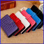 iPhone 5c Croco Wallet Leather case