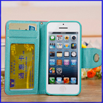 Apple IPhone 5C High Quality PU Wallet Case