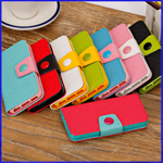 iPhone 5c mixcolor wallet leather case