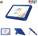 pattern leather stand case for toys r us tabeo e2 kids tablet