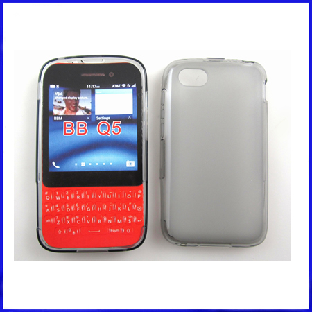 Matte tpu case for blackberry Q5
