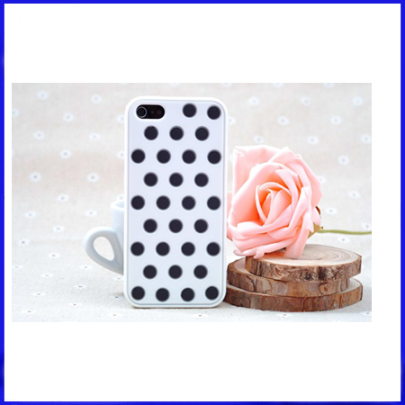 Polka Silicone Case for iphone 5 5G