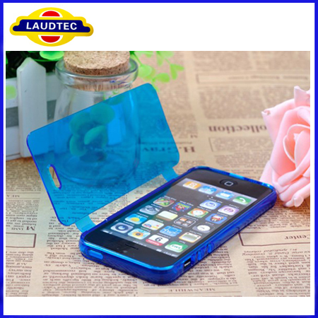 Iphone 5 Flip Cover Silicone Case