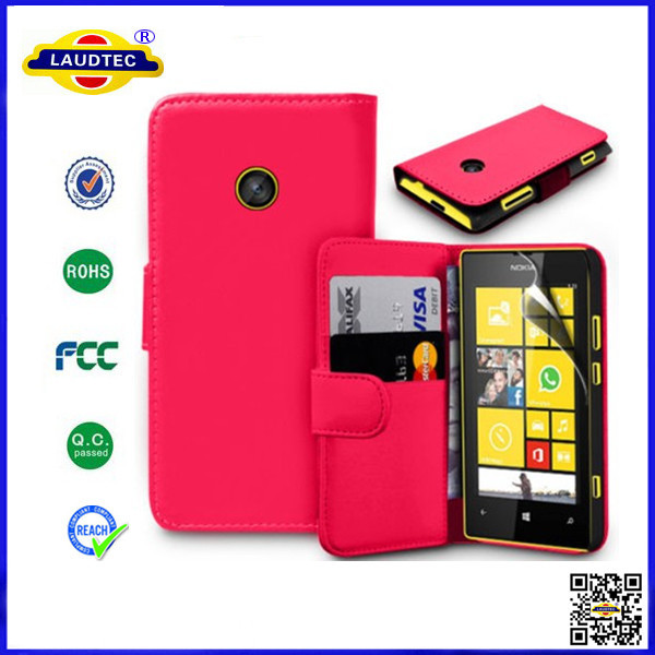 wallet Leather Case Cover For Nokia X