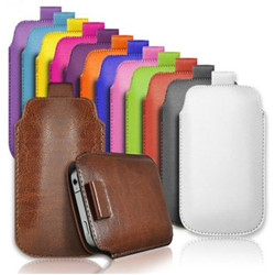 Blackberry Z3 flip leather case pouch,Flip leather pouch for blackberry Z3