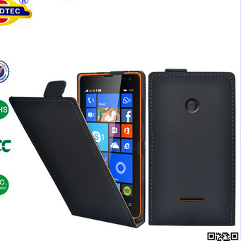 Ultra Slim Leather Case Cover For Nokia Lumia 435--Laudtec