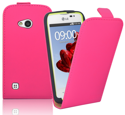 Hot New Products for 2015 Slim Leather Flip Case Cover Pouch for LG L50 Laudtec.