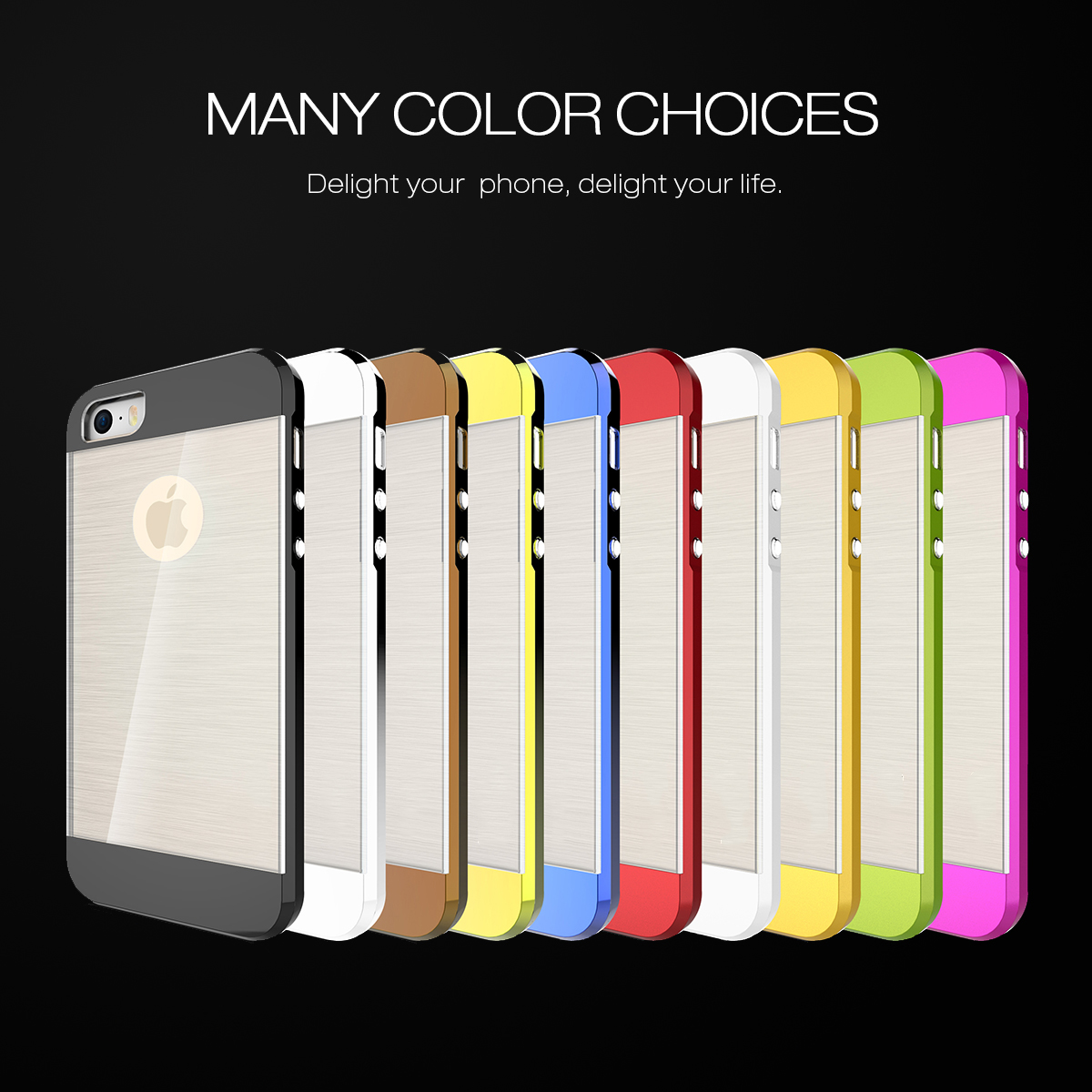 SLICOO TPU Electroplating white transparent case for iPhone5S