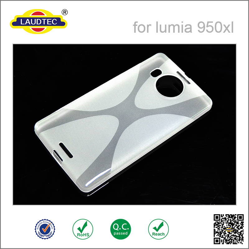 TPU Gel lumia 950  X Line case for Nokia