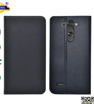 Magnets NO-Catch leather wallet case for LG G Flex 2