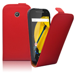New Coming Products Hot Selling Colorful Ultra Slim Leather Case For Motorola Moto E2