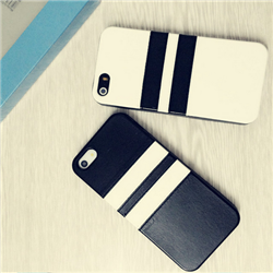 black and white of silicone case for iphone5