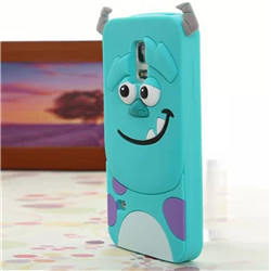 samsung galaxy s5 3D Sulley Cartoon  Soft Silicon phone case