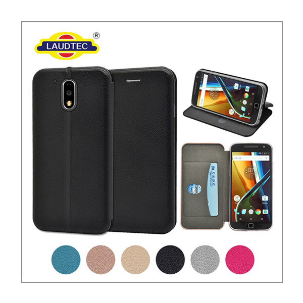 MOTO G4 plus Full Curved Leather Case