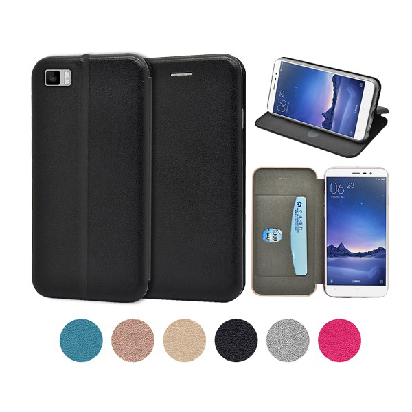 Xiaomi 3 full curved slim wallet cases