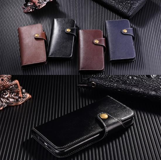 Premium Wallet Flip Leather Case Cover For IPhone 6