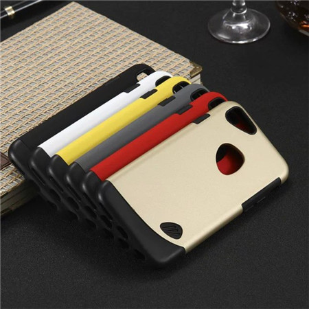 Hybrid Metal Hard Plastic Cover Case for iphone 6