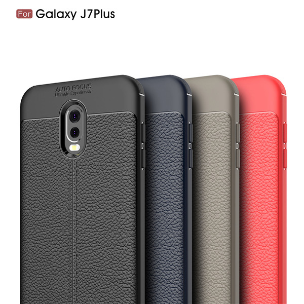 Full Cover Shockproof TPU Case For Samsung Galaxy J7 Plus