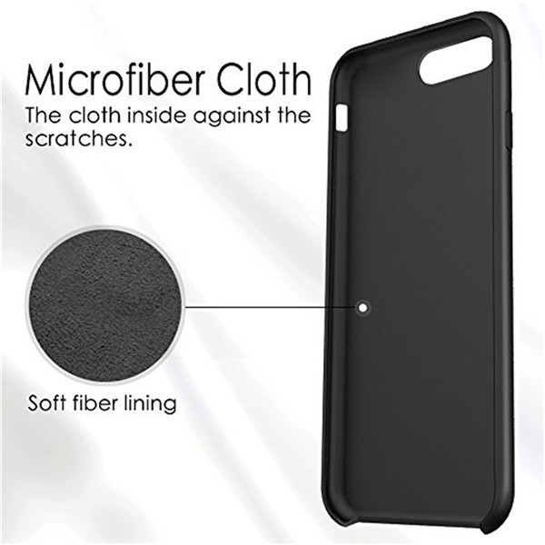 Rubber Case Liquid Silicone Case For iphone7 plus