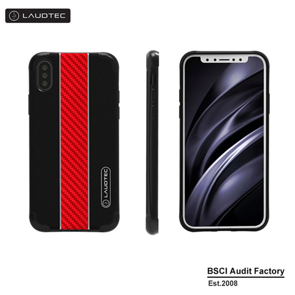 Carbon Fiber Case Ultra Thin Shockproof Case for iphone X
