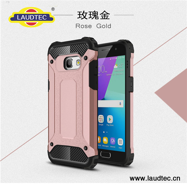Shockproof case back cover for Samsung Galaxy A320