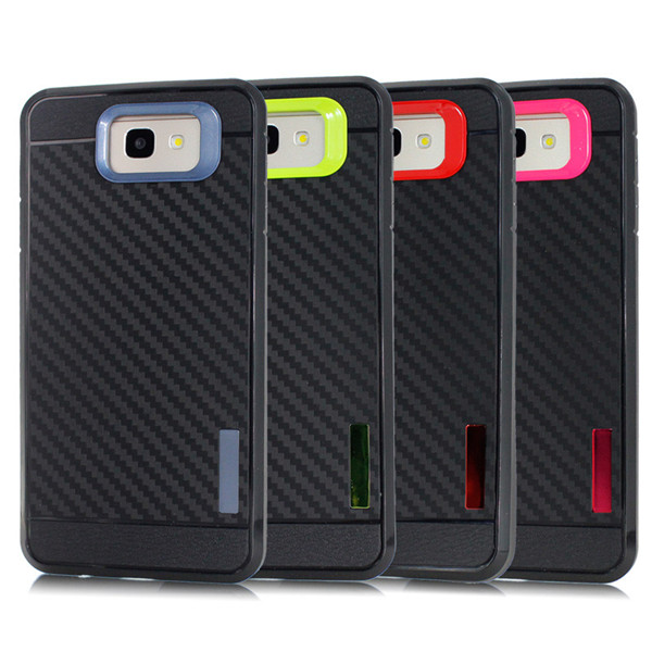 Carbon Fiber Tpu  Case for samsung Glaxy On 5
