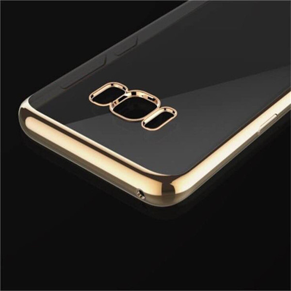 Hot Selling Metallic Case For Samsung Glaxy S8 TPU