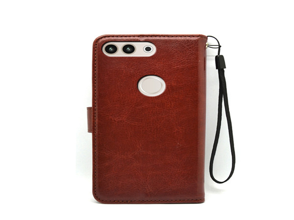 Luxury wallet case flip leather cover for huawei p10 plus