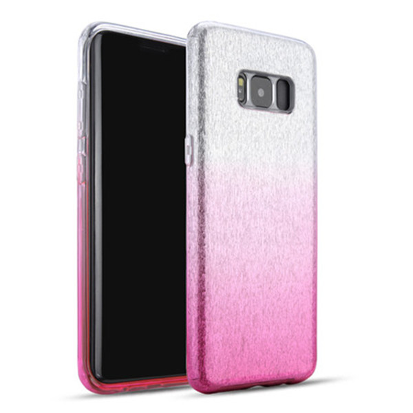 changing color Shinning glitter case for Samsung S8