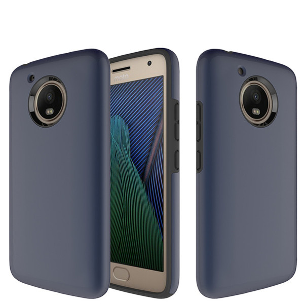 2 in 1 Design Shockproof Phone Case For MOTO G5