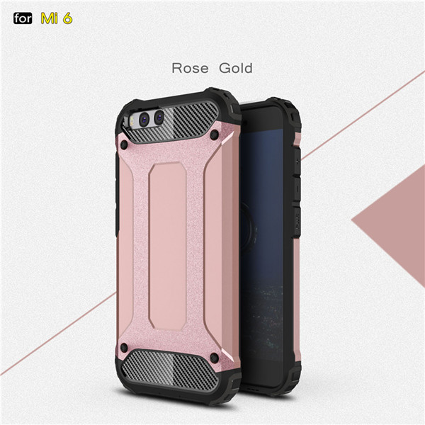 Armor Shockproof Back Cover Phone Case For Xiaomi 6