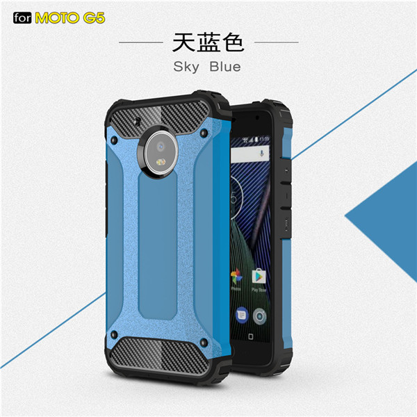 protective armor cellphone case for Moto G5