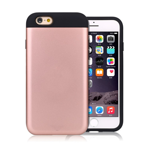 Shockproof Wallet Defender  Case for iphone 6