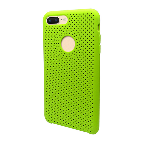 Protective 3 Layers Unique Liquid Silicone Case for iPhone 8