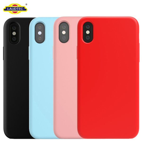 liquid silicone rubber mobile phone  case for iphone 8