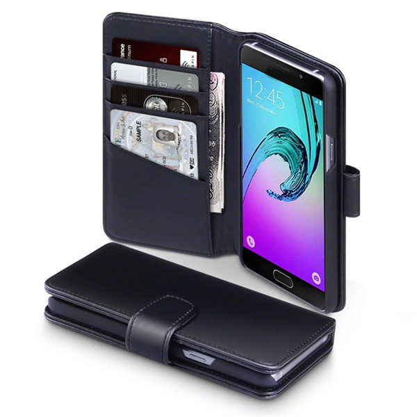 Samsung A5 2016 Leather Wallet Stand Case
