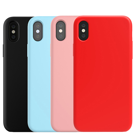 Liquid Silicone Rubber Mobile Phone Cover For iPhone 8 Case