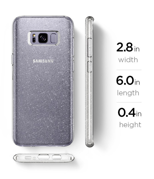Samsung Galaxy S8 clear water Case
