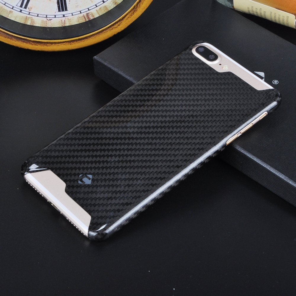 Carbon Fiber texture TPU iphone 8 plus Case