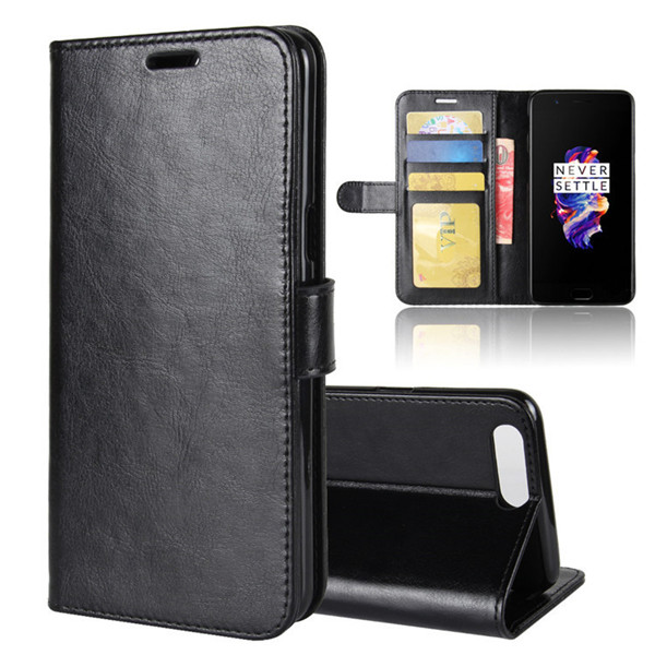 Mobile Phone Leather Case For Oneplus 5 Book Case