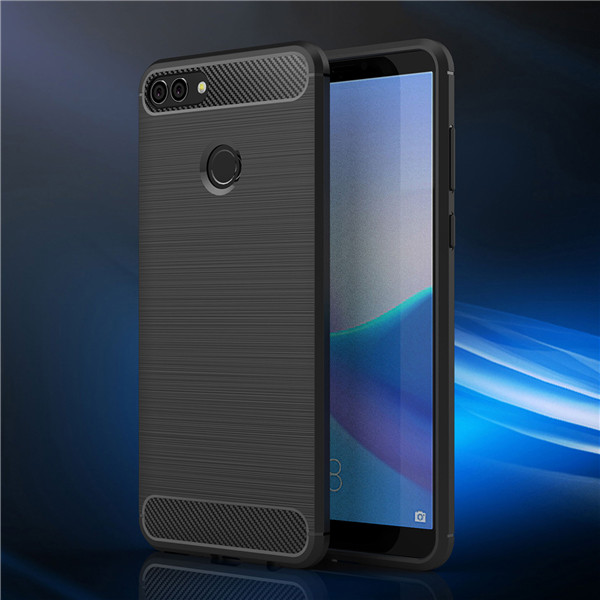 Newest Carbon fiber brushed case for Huawei Y9