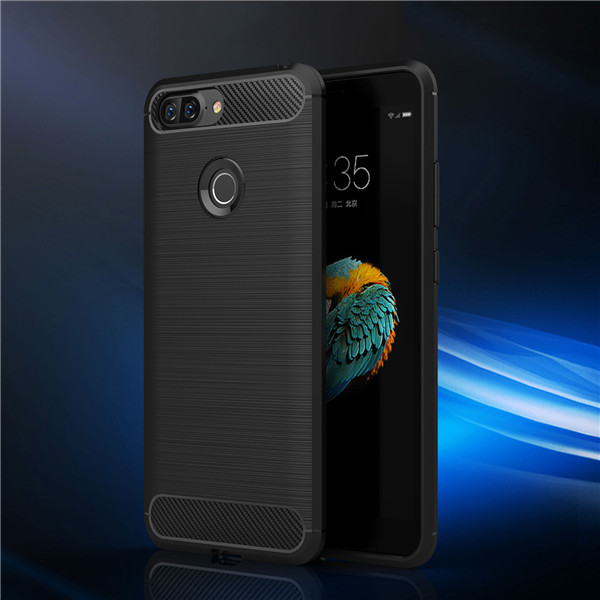Cell phone accessories carbon fiber tpu case for Lenovo S5