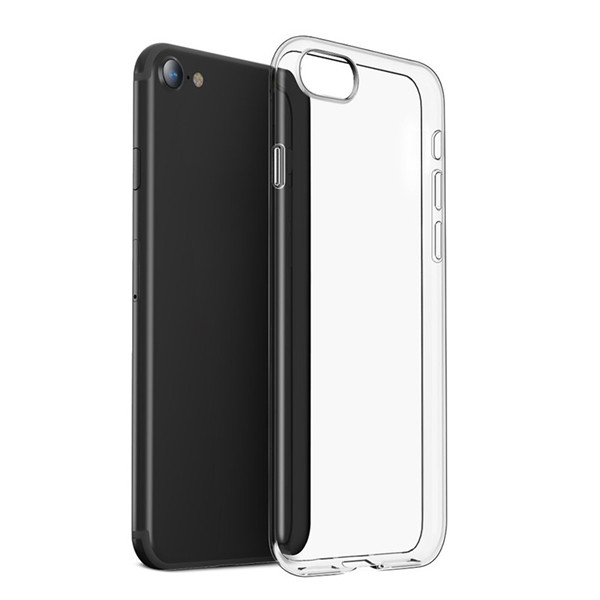 Iphone 8 Transparent Clear TPU Silicone Case