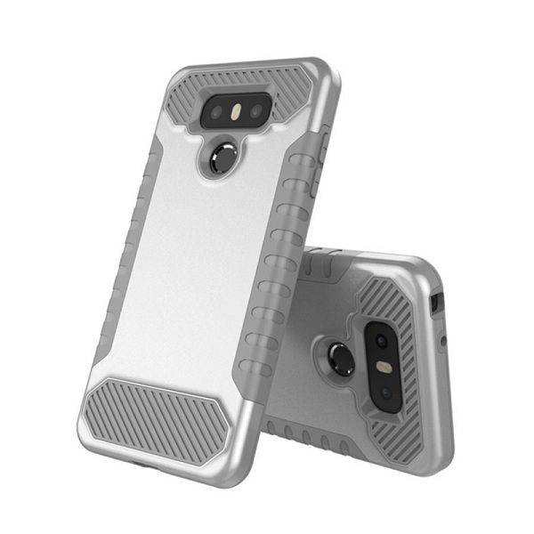 2 In 1 Double Protective Rugged Case Shockproof Cover For LG G6