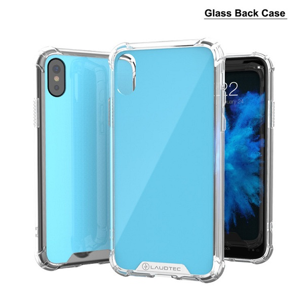 2017 Creative Shockproof Tempered Glass Phone Case For iPhone X