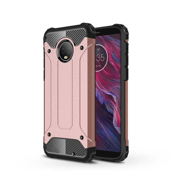 Moto G6 Plus TPU and PC Hard Case Dual Protective Cover​